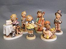 A quantity of Hummel figures to include