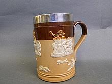 A Royal Doulton tankard 'Harvest' with a
