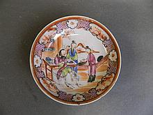 An early Chinese porcelain dish painted with