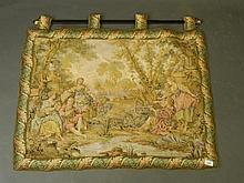 A Belgian wall hanging with 18th Century style