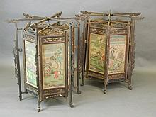 A pair of large late 19th Century/early 20th