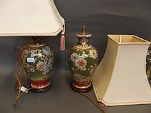 A pair of 19th Century Japanese Satsuma table