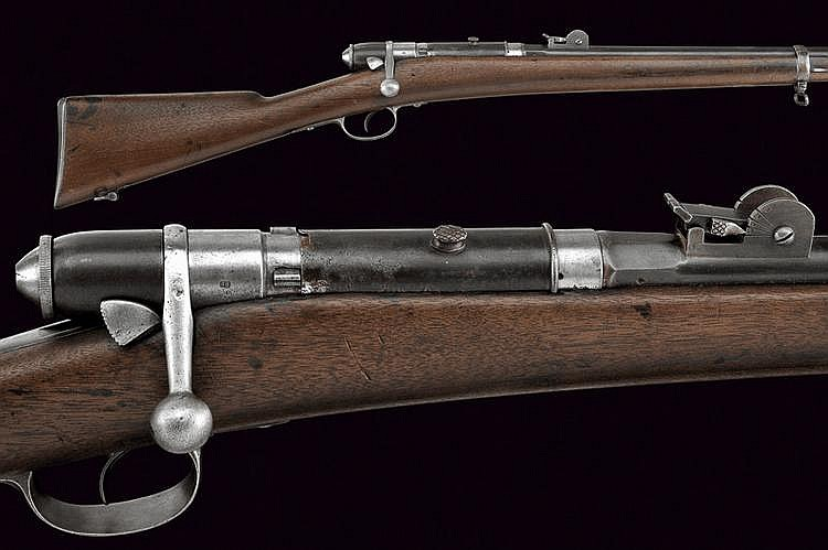 A 1870 model Vetterli rifle for special troops