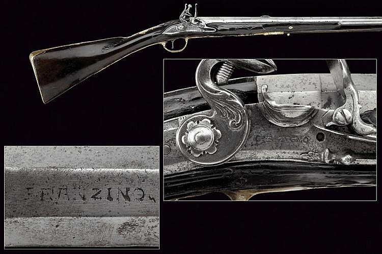 A flintlock gun by G. B. Zugno