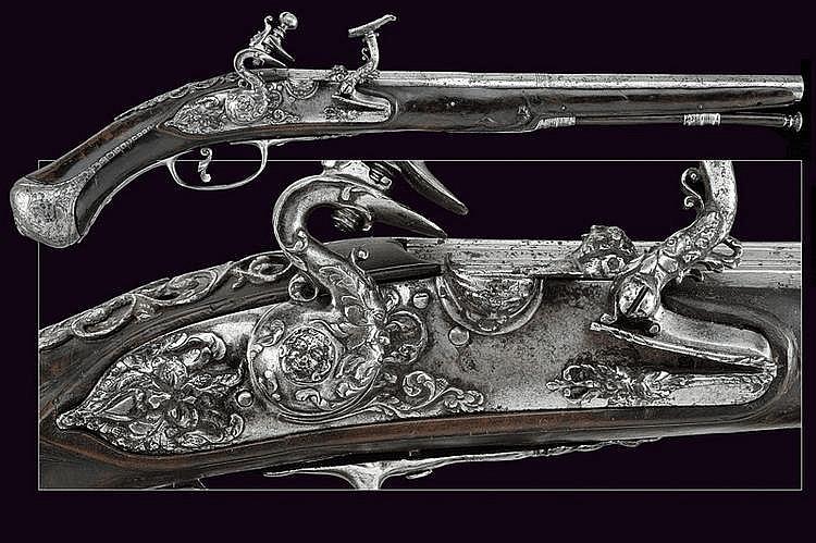 A beautiful flintlock pistol by Ghini