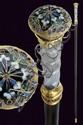 A beautiful stick-dagger by Faberge'