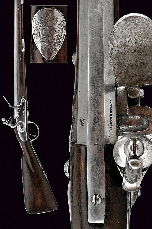 An early and important flintlock gun