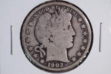 1902 Barber Half Dollar- G