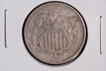 1868 Shield Nickel - F