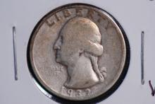 1932-D Washington Quarter - VG