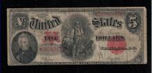 1907 $5 United States Note -