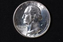 1944 Washington Silver Quarter - BU