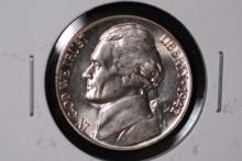 1942-P Silver War Nickel - Gem BU