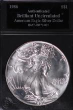 1986 American Silver Eagle - BU