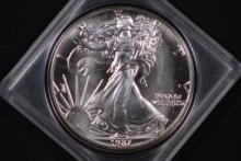 1987 American Silver Eagle - UNC