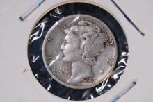 1931-D Mercury Dime -VF