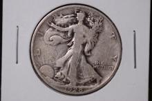 1928-S Walking Liberty Half Dollar- VG