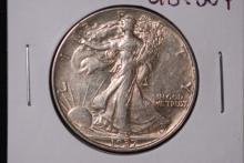 1937 Walking Liberty Half Dollar- UNC