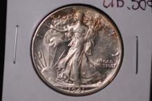1941-D Walking Liberty Half Dollar - CH UNC