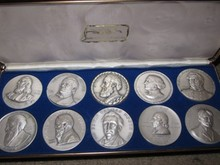Medallic Arts HOF Great American Silver Set