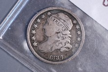 1834 Capped Bust Dime - VG