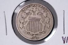1882 Shield Nickel - VF