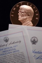 1977 Official Jimmy Carter Inaug Medal