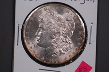 1881-S Morgan Silver Dollar - CH BU
