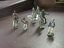 6 Lead Figurines