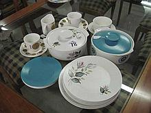 Collection of J & G Meakin 1970's Crockery