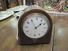 Mahogany Mantle Clock