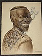 Gerard Bhengu Watercolour (1910-1990), Gerard Bhengu, Click for value