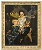 Ford Madox Brown oil painting on canvas depicting