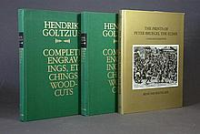 BOOKS on HENDRIK GOLTZIUS & PETER BRUEGEL.