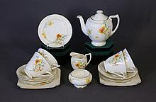 14 Pce Royal Doulton Part Tea Set. Meadow flowers