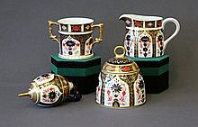 4 Royal Crown Derby Items. All Imari pattern incl.
