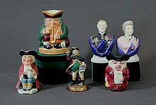 6 Various English Porcelain Items. Incl. Royal