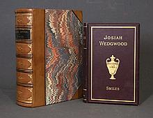 BOOKS on POTTERY (2). [ WEDGWOOD ] SMILES, Samuel,