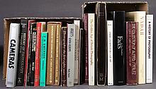 Qty PHOTOGRAPHY BOOKS. Incl. Atgets Seven Albums,