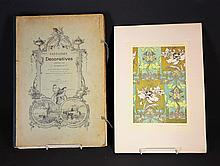 BOOK of DESIGNS. HABERT-DYS, J[ules-Auguste].