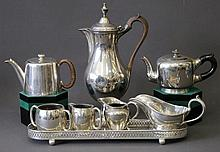 8 Various Early French? Silverplated Items. Incl.