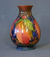 William Moorcroft Leaf & Berry Posy Vase. c.1930