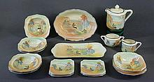 17 Pce Royal Doulton Part Dessert Set D4784. Pan