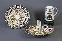 3 Various Royal Crown Derby Items. Incl. Heather