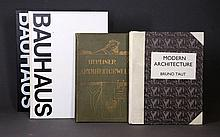 BOOKS on ARCHITECTURE (3). WINGLER, Hans M. The