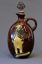 Royal Doulton Kingsware Flask. 'Captain Phillip