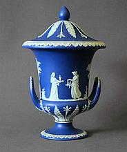 Early Wedgwood Pedestal Urn & Cover. Classical
