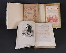 BOOKS - FRENCH ILLUSTRATED WORKS (4). RABELAIS,