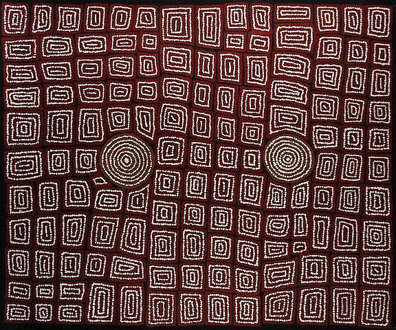 TJAPALTJARRI, Thomas (b.c.1964) 'Tingari Cycle,'
