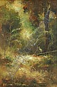 FENNELL, Peter (b.1949) 'First Light,' 1983. Oil, Peter Fennell, Click for value
